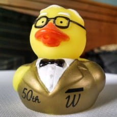 Warren Buffett, in duck form
